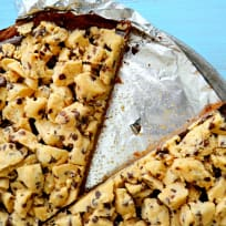 Chocolate Chip Cookie Dough Pizza Recipe
