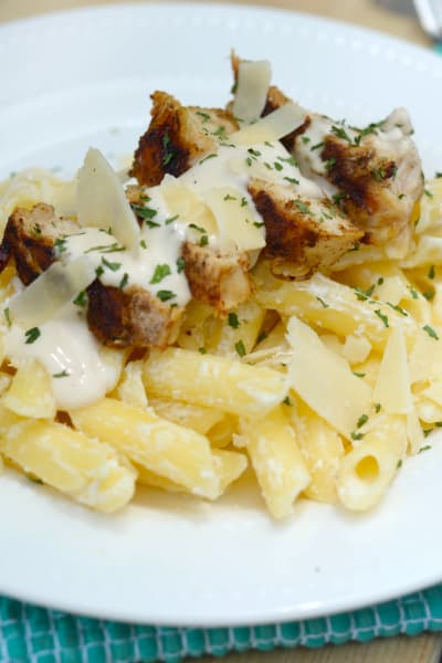 Blackened Chicken Alfredo Picture