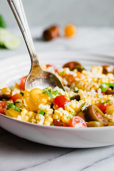 Roasted Corn and Tomato Salad Picture