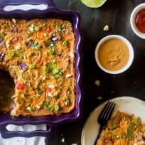 Thai Chicken Cauliflower Casserole Recipe