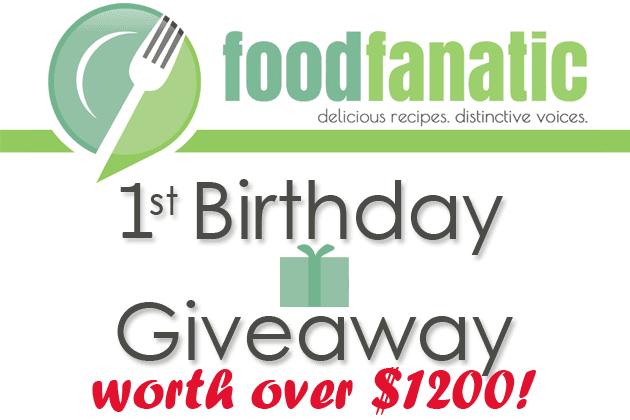 Food Fanatic's 1st Birthday!