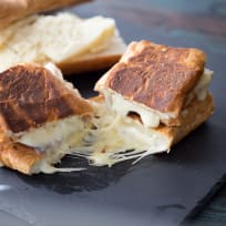 Fondue Cheese Panini Sandwiches Recipe