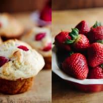 Strawberry Banana Muffins Recipe