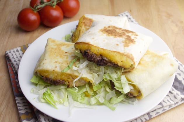 Quesadilla Burgers Photo