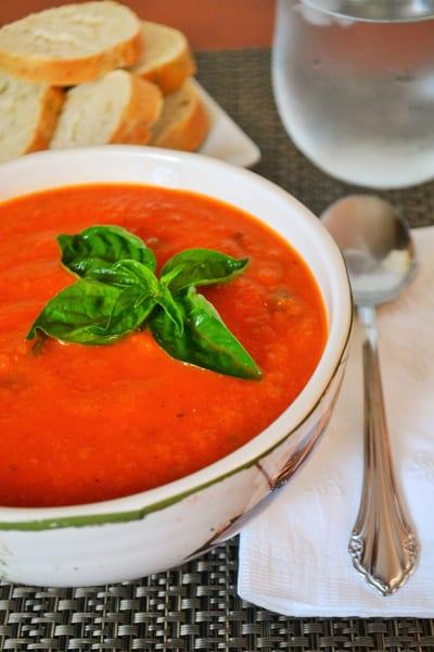 Vegan Tomato Soup Picture