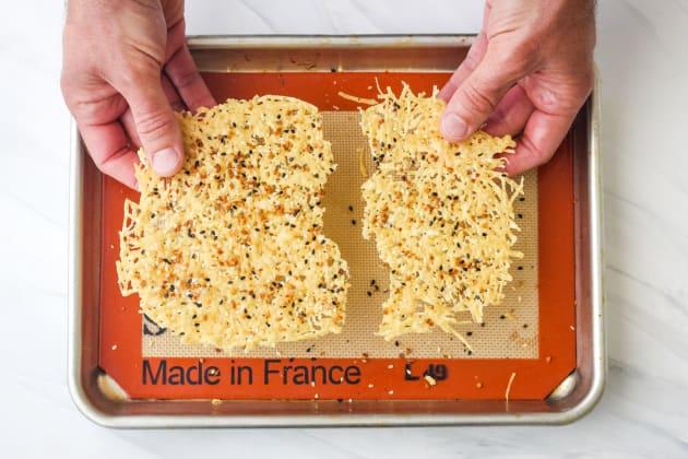 Toaster Oven Parmesan Crisps Image