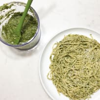 Classic Basil Pesto with Pine Nuts and Cheese