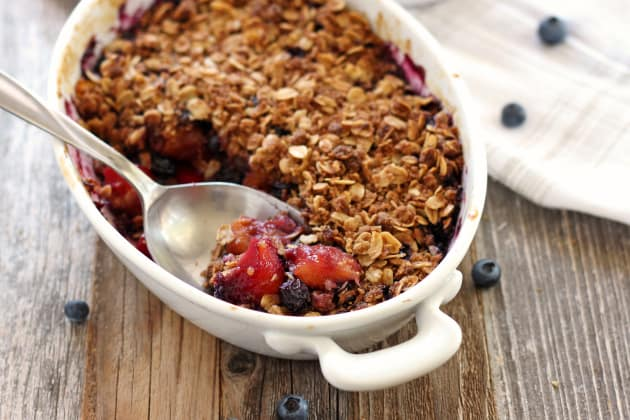 Blueberry Mango Crisp Photo