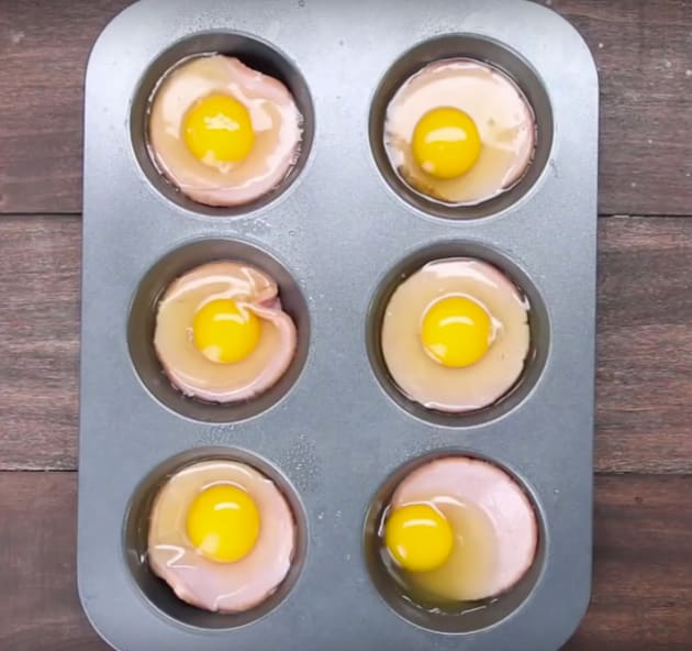 Eggs in Muffin Pan
