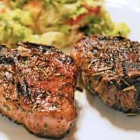 Pan Fried Lamb Chops with Rosemary Recipe
