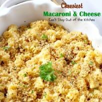 Cheesiest Macaroni and Cheese