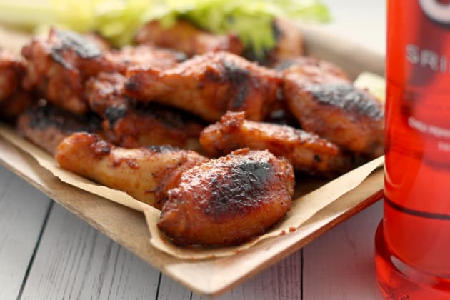 Bloody Mary Chicken Wings Picture