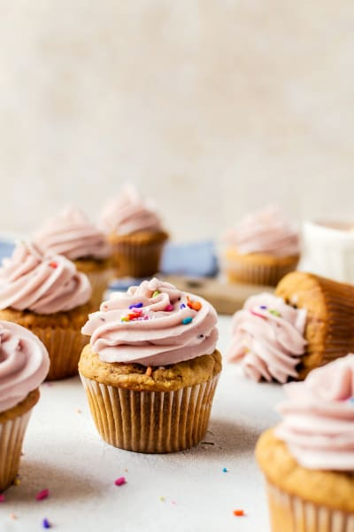 Peanut Butter and Jelly Cupcakes Image