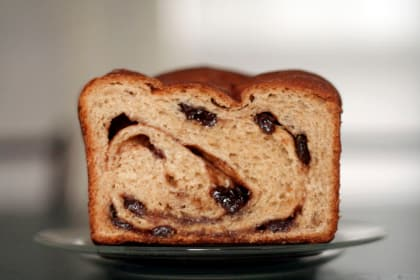 Amaretto Cinnamon Raisin Bread