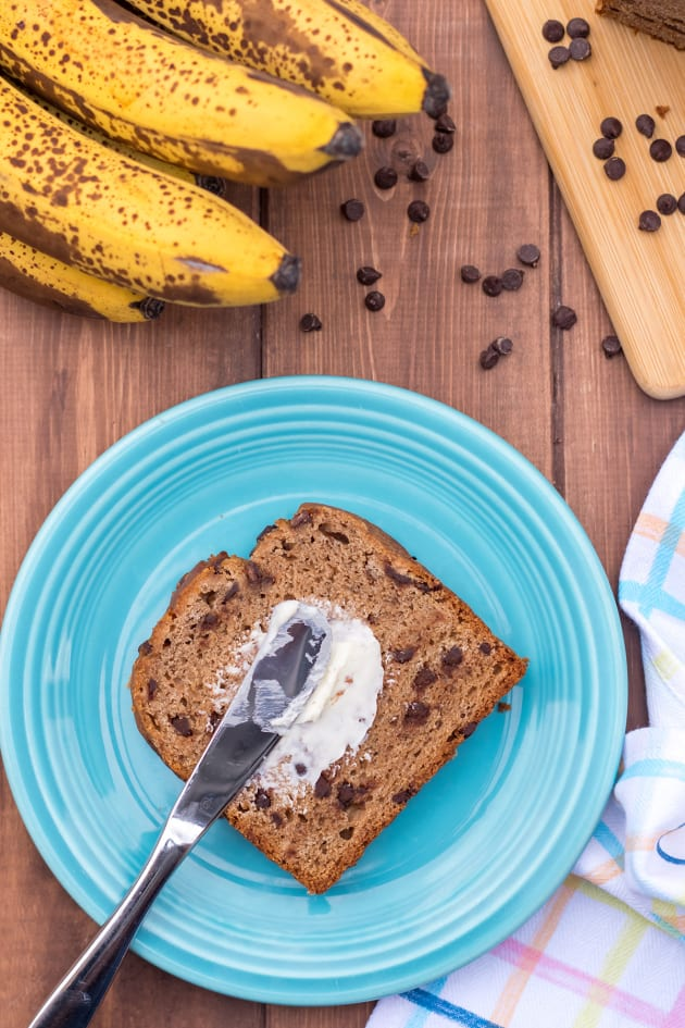 Gluten Free Chocolate Chip Banana Bread Pic