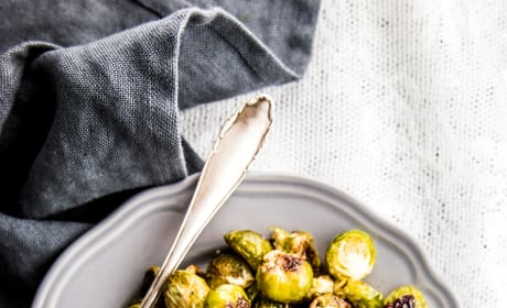 Cranberry Pecan Roasted Brussels Sprouts Image