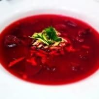 Spicy Vegan Beet Soup