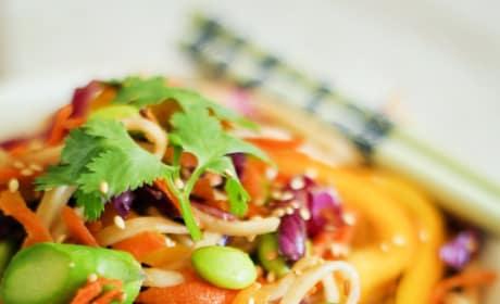 Spring Vegetable Pad Thai Image