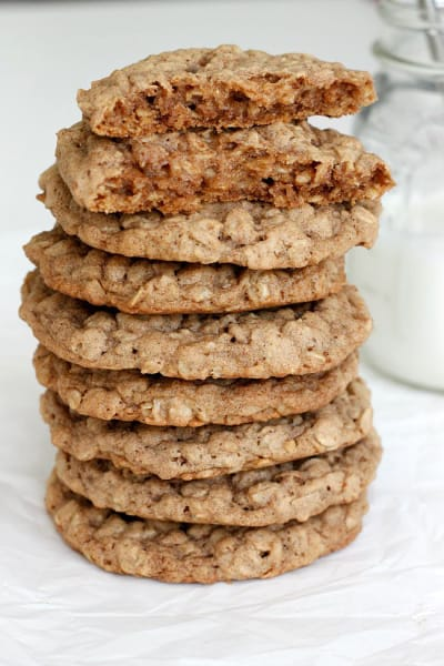 Pumpkin Spice Oatmeal Cookies Image