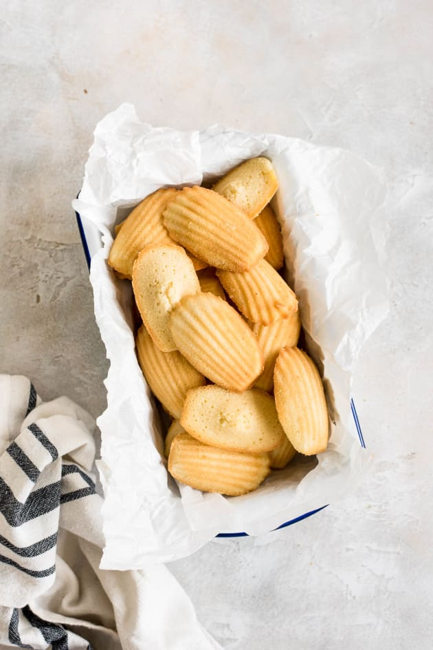 Classic French Madeleines Picture
