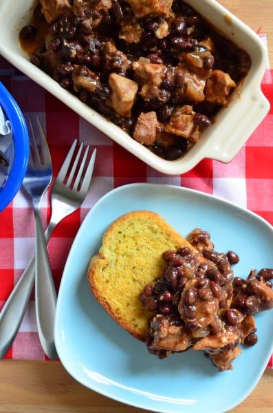 Pork and Black Beans Image
