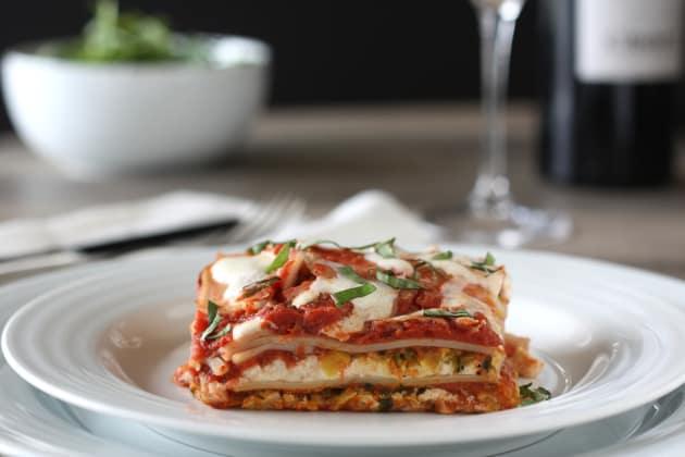Vegetable Tofu Lasagna Photo