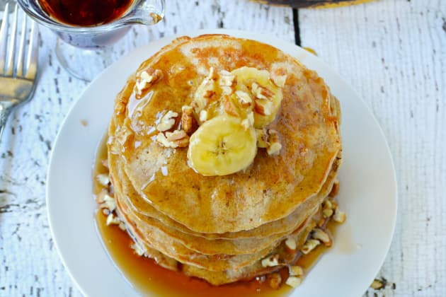 Banana Oat Pancakes Pic
