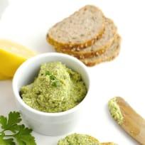Lemon Broccoli Hummus