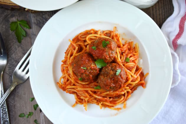 Gluten Free Baked Italian Meatballs Photo