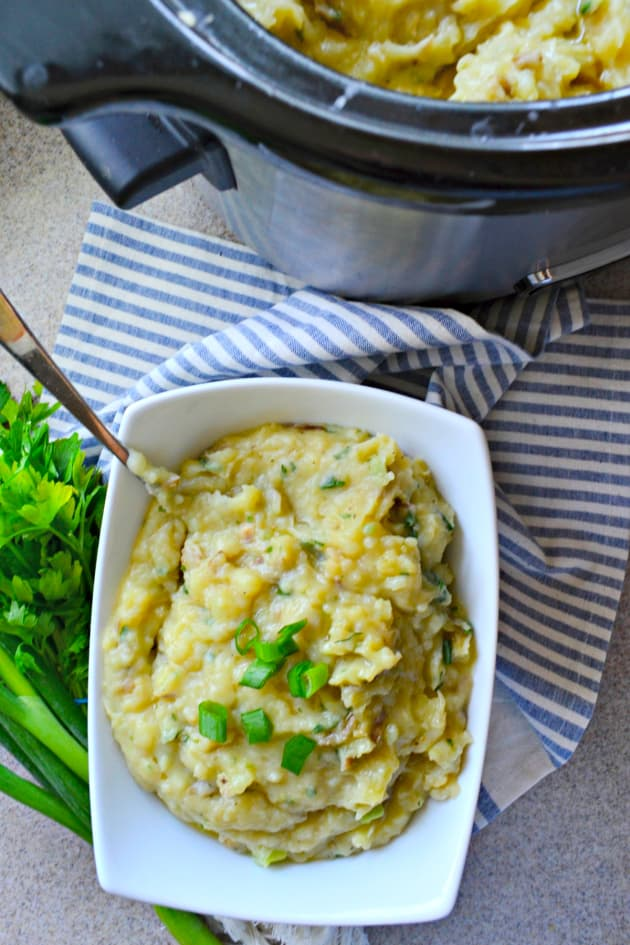 Slow Cooker Mashed Potatoes Image