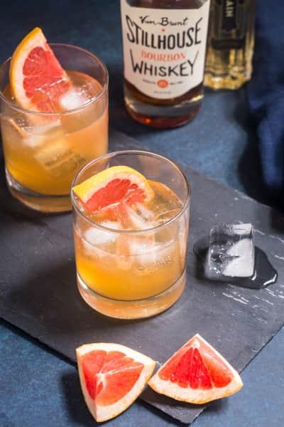 Grapefruit Whiskey Sour Pic