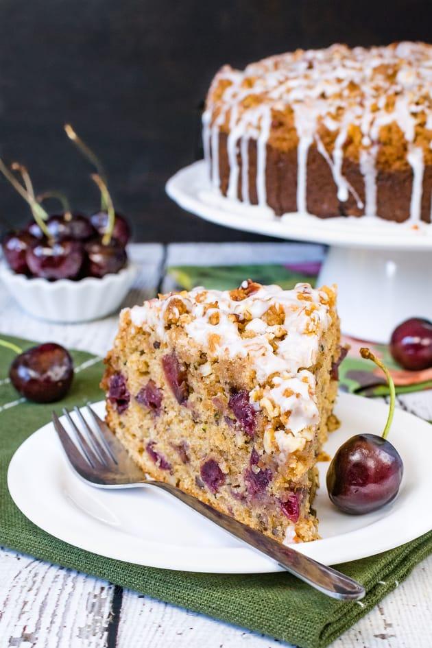 Cherry Zucchini Coffee Cake Pic