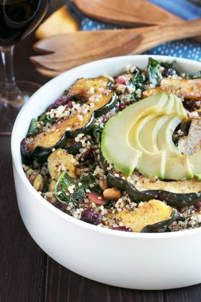 File 4 Harvest Acorn Squash Quinoa Salad