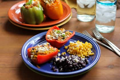 Southwest Stuffed Bell Peppers