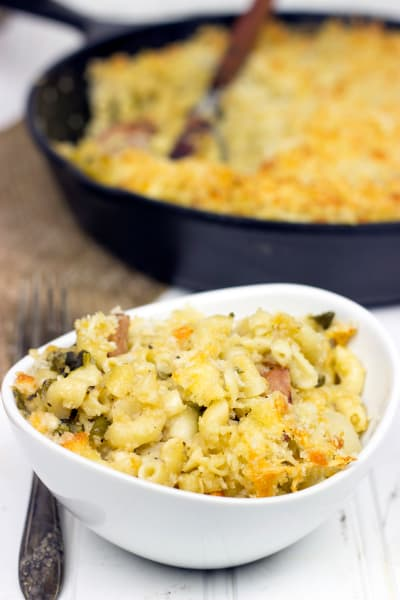 Roasted Poblano Mac & Cheese Picture