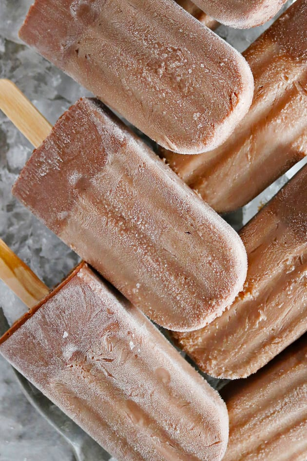 Boozy Nutella Popsicles Picture