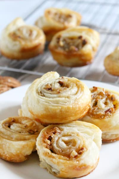 Pecan Pie Cinnamon Rolls Picture