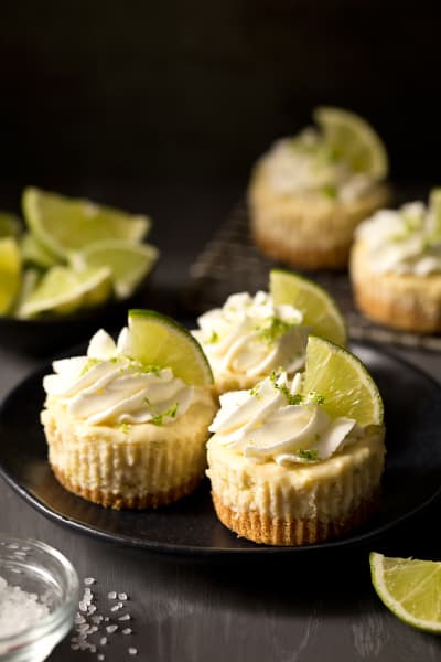 Mini Margarita Cheesecakes Pic