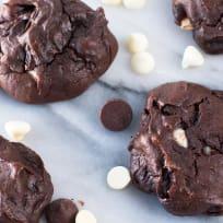 Triple Chocolate Avocado Cookies Recipe