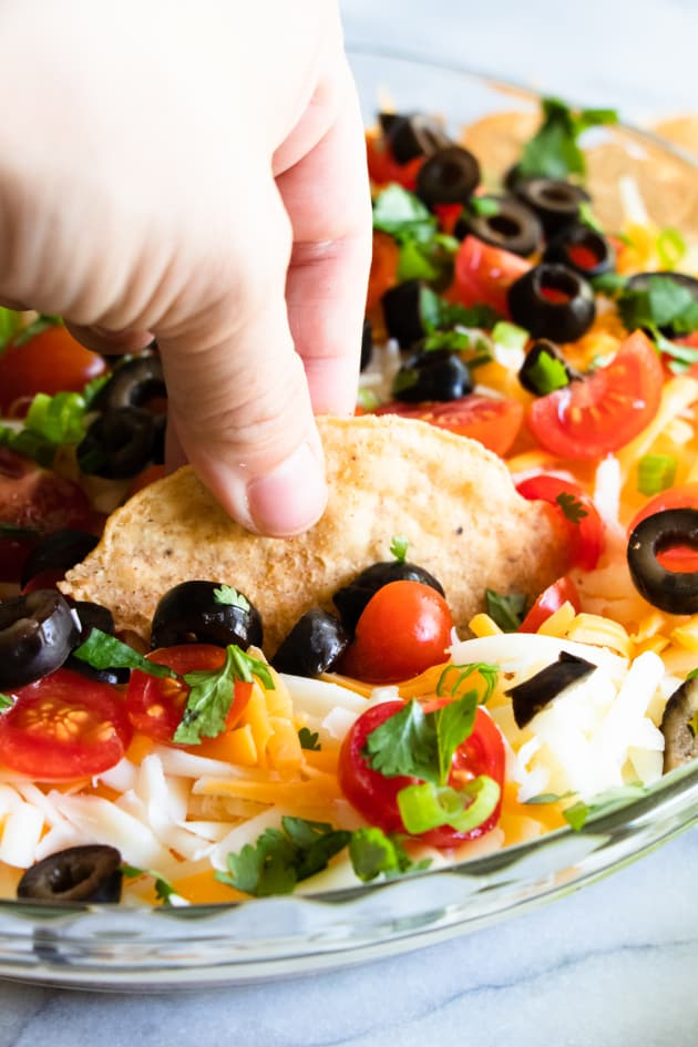 7 Layer Dip Picture