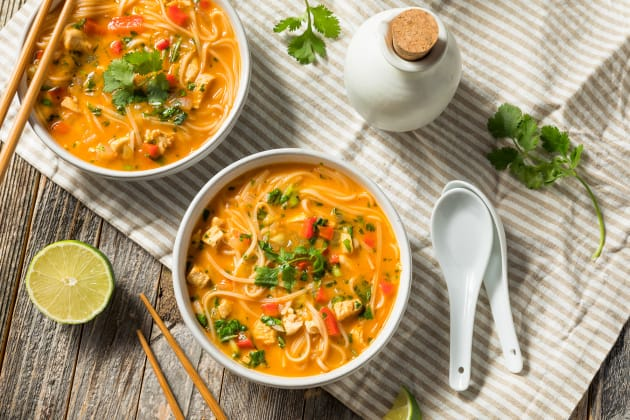 Red Curry Noodle Soup Photo
