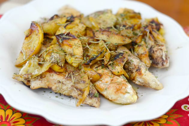 Pan-Seared Apple Chicken Pic