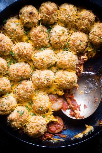 Cajun Cauliflower Tot Casserole Pic