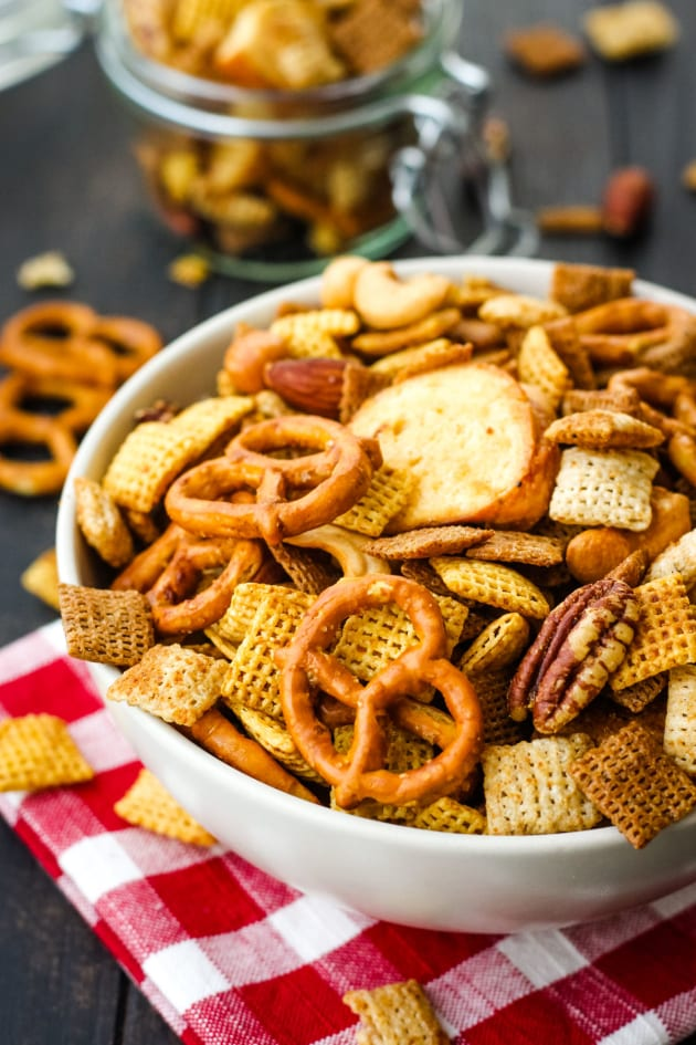 Toaster Oven Chex Mix Picture
