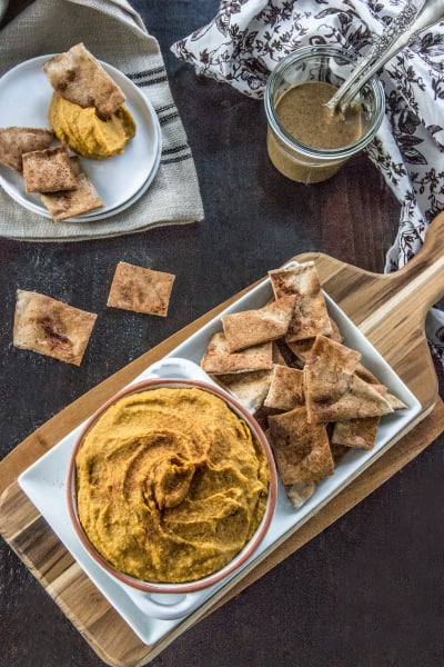 Curry Hummus with Sweet Potato Image