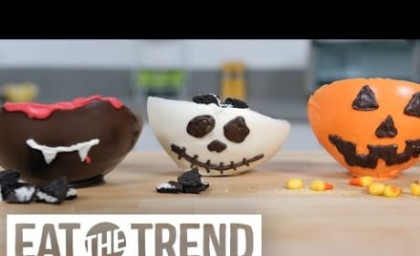 How to Make Edible Halloween Inspired Chocolate Bowls