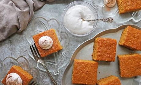 Easy Gluten Free Pumpkin Spice Cake Photo