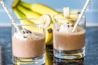 Chunky Monkey Smoothies