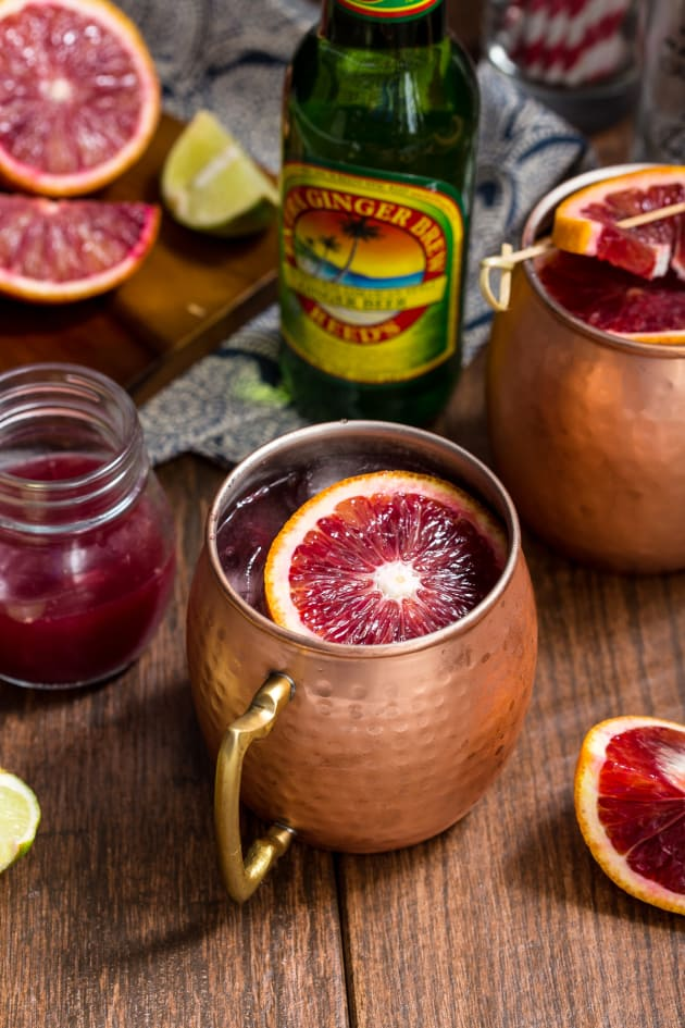 Blood Orange Mule Pic