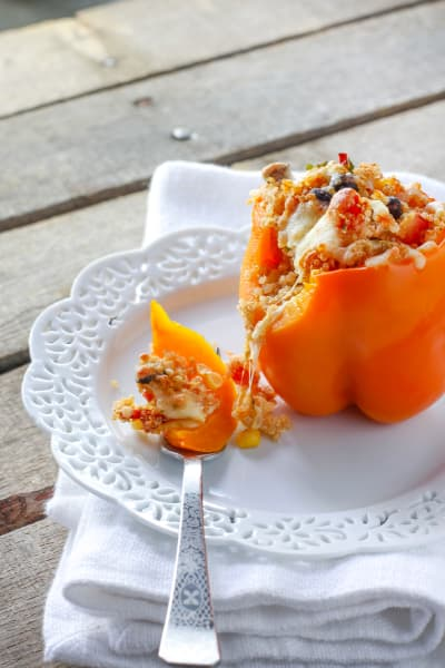 Quinoa Stuffed Peppers Picture